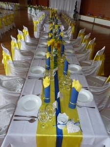 Žlto -modrá svadba - Reštaurácia Lietadlo, Podlipníky, Hanušovce n/T, Vranov n/T, Prešov