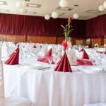 Veľká bordová svadba - 170 hostí - Reštaurácia Lietadlo - Podlipníky, Vranov nad Topľou, Hanušovce nad Topĺou, Prešov